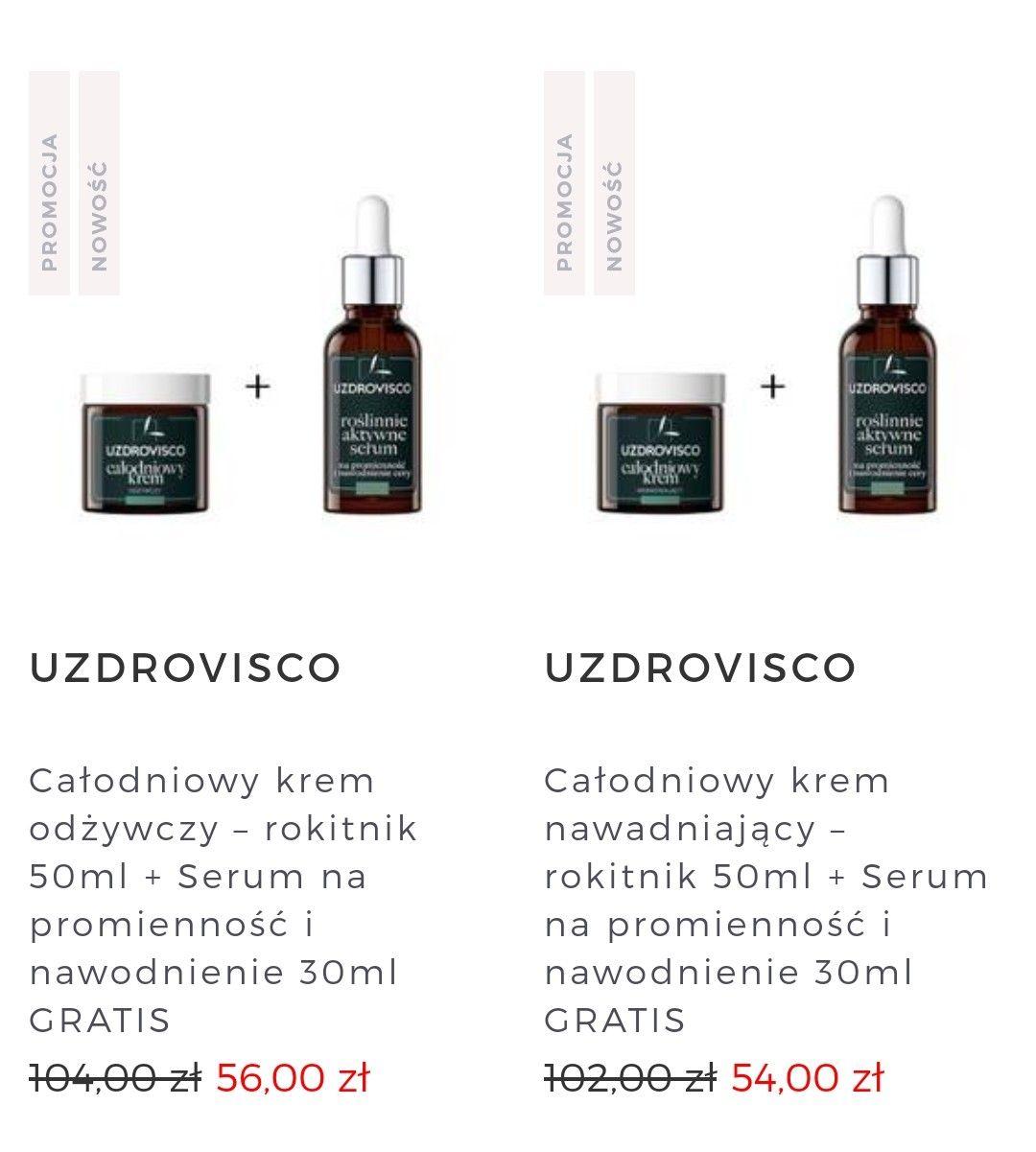 Promocja 1+1 MINTISHOP UZDROVISCO