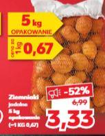 Ziemniaki jadalne 5kg Kaufland polski produkt