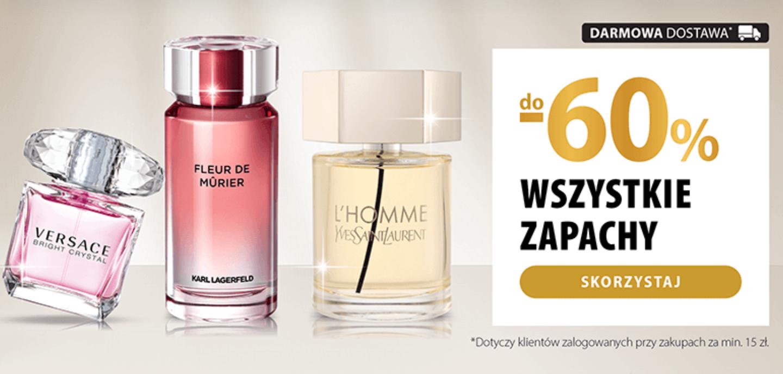 Wszystkie perfumy do - 60% taniej!   Hebe