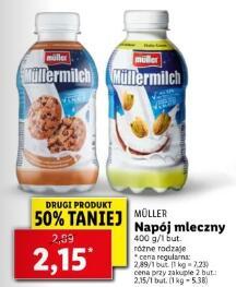 Napój mleczny Muller