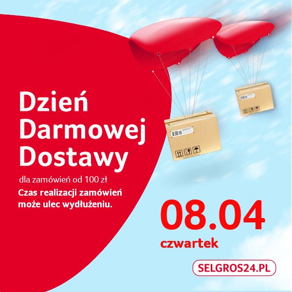 Darmowa dostawa w Selgrosie od 100 PLN