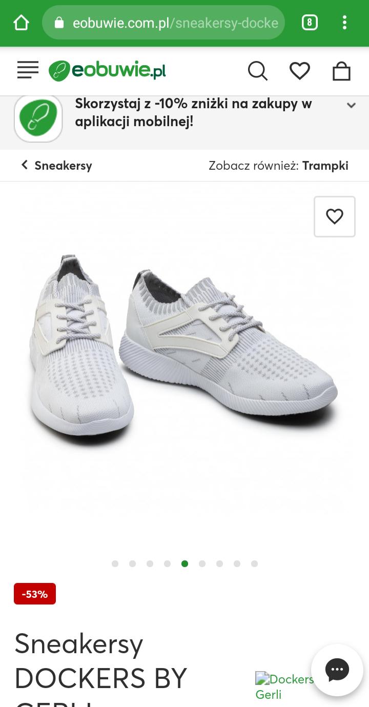 Sneakersy, buty DOCKERS BY GERLI