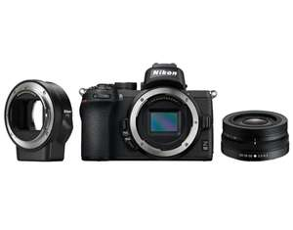 Aparat NIKON Z 50 + Nikkor 16-50 VR + Adapter FTZ