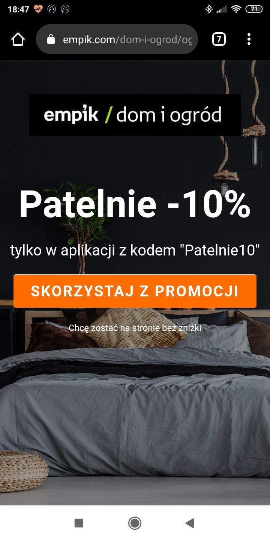 Patelnie przez empik -10%