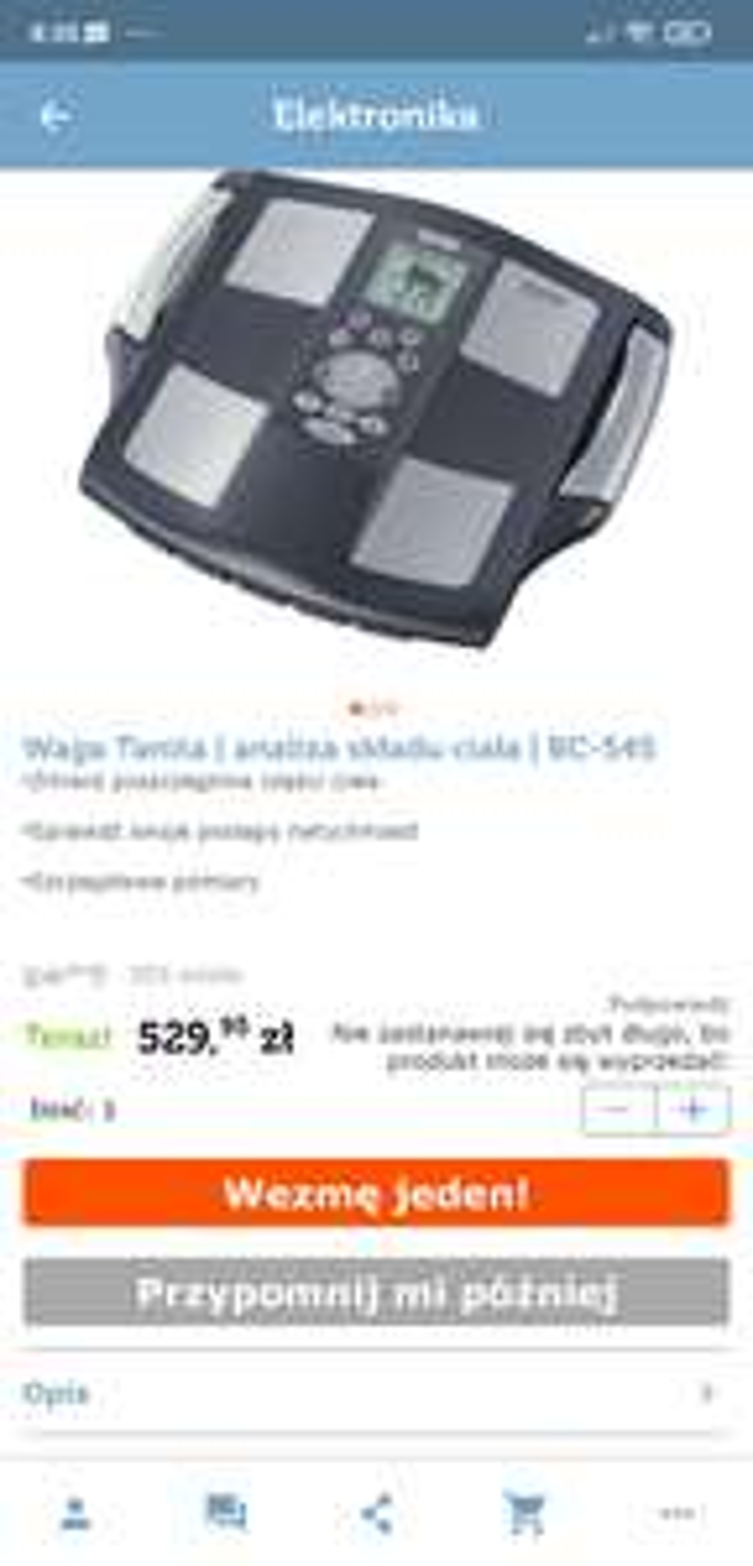 Waga tanita bc-545