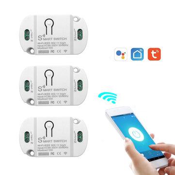 5 sztuk Tuya Smart WiFi Home Switch - przekaźnik WiFi (lub 1sz za $3.99 lub 3 szt. za $9.99)