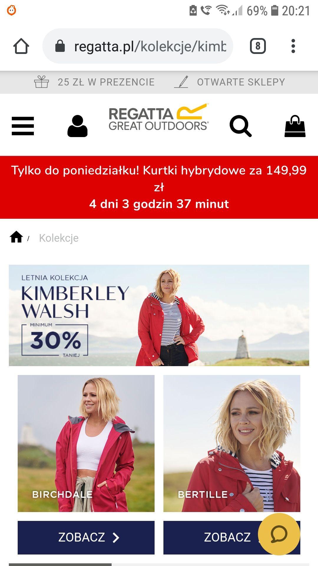 """Letnia Kolekcja """"Kimberley Walsh"""" od firmy """"Regata"""" minimum -30%"""