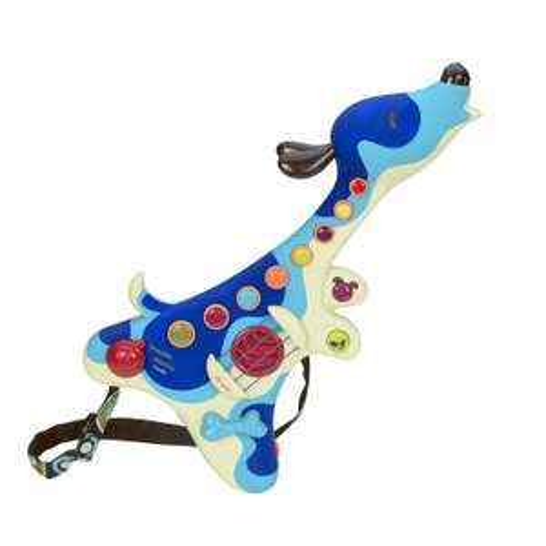 B. Toys BX1206Z Gitara Woofer dla Dzieci Kształt Pieska