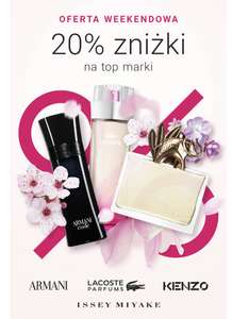 Przecenione perfumy (dodatkowe -20%)
