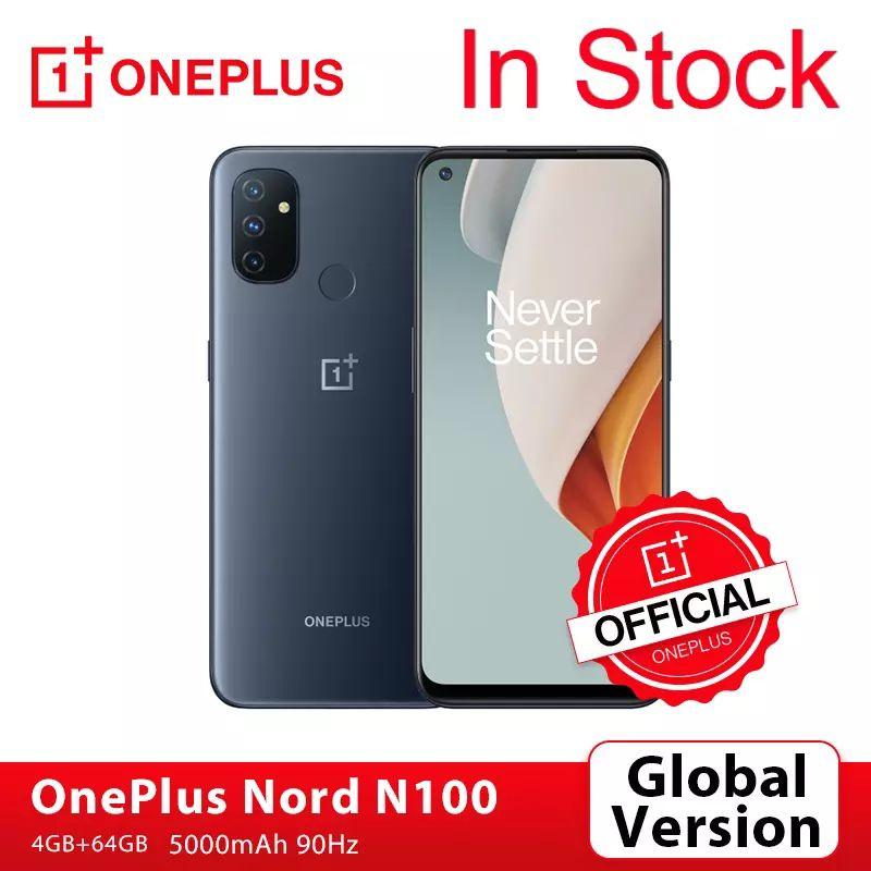 OnePlus Nord N100 4GB 64GB Smartphone 90Hz 6.52 ''ekran