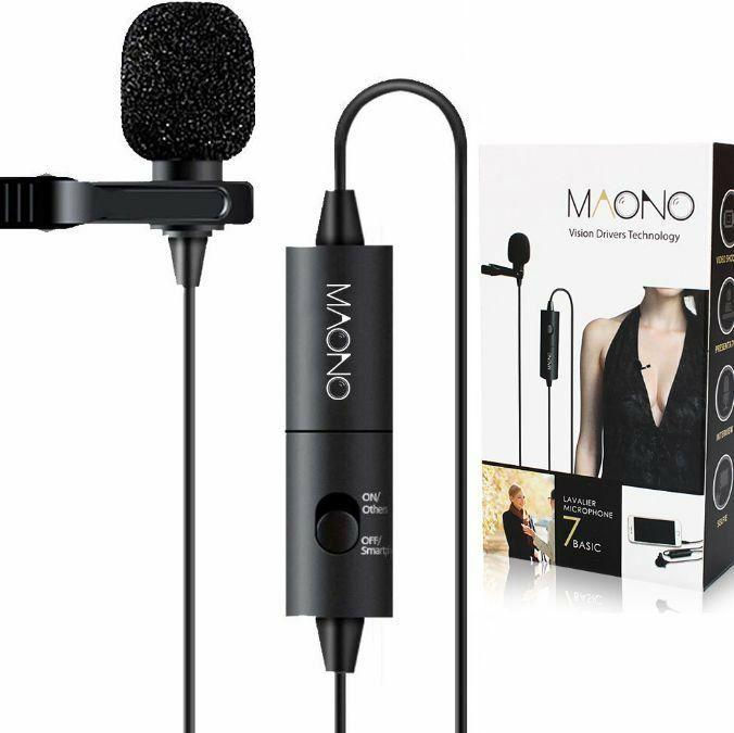 Mikrofon krawatowy Maono AU-100 DSLR