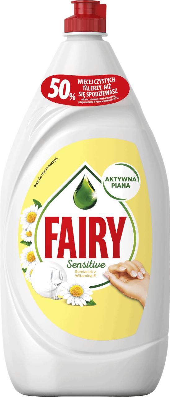 Fairy 1350ml, szczoteczka do zębów extra soft 40