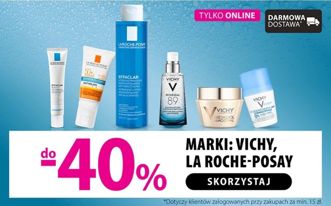 Do -40% La Roche-Posay i Vichy