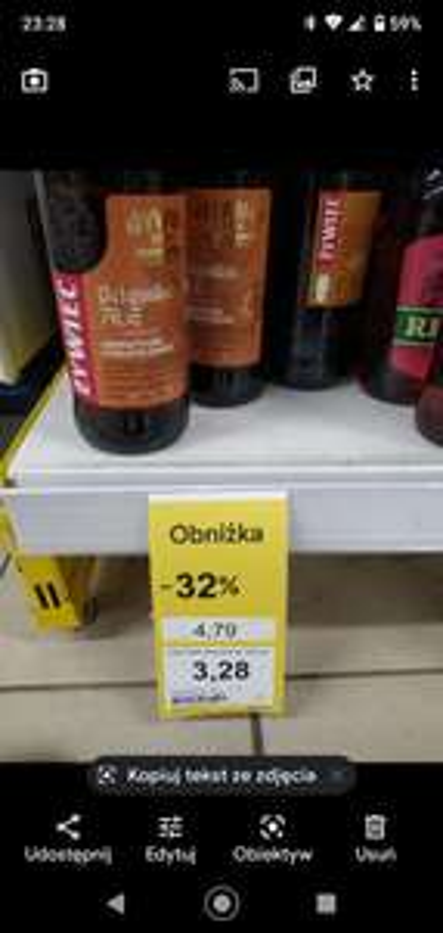 Piwa Rastingery 40% taniej, Ż Belgijskie i Mistrzowski porter taniej 30% /Tesco/ Krapkowice
