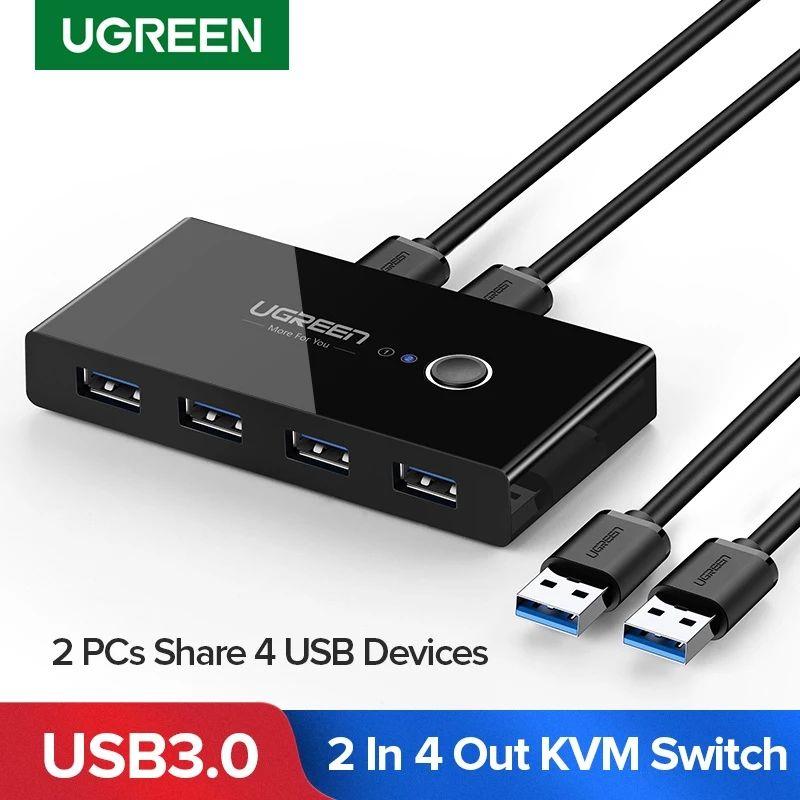 Ugreen KVM / przełącznik USB