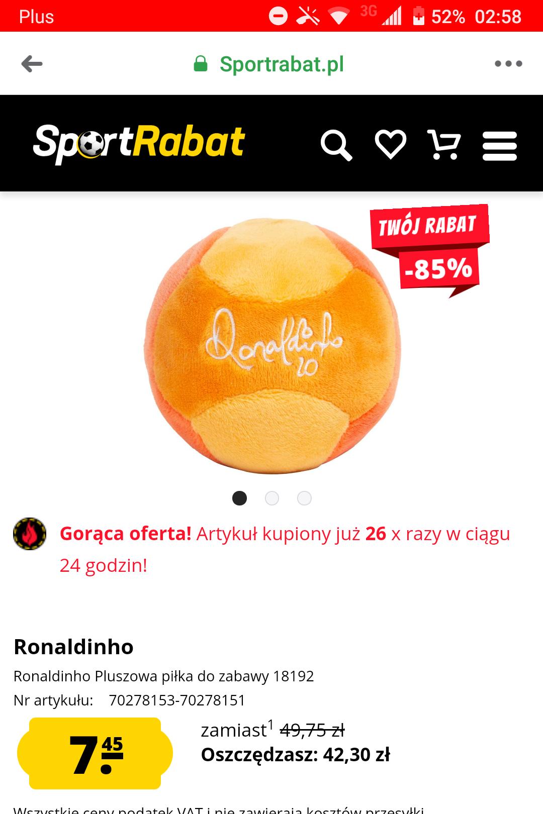 Piłki, plecaki, saszetki Ronaldinho 10