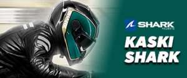 20% obniżki na kaski motocyklowe SHARK, SMK, NOLAN