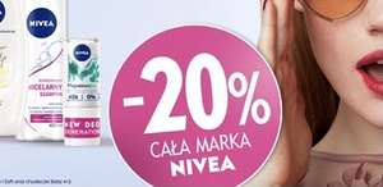 -20% na WSZYSTKO marki Nivea