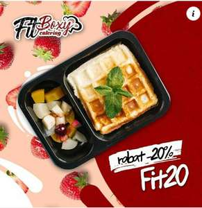 Catering FitBoxy 20% taniej