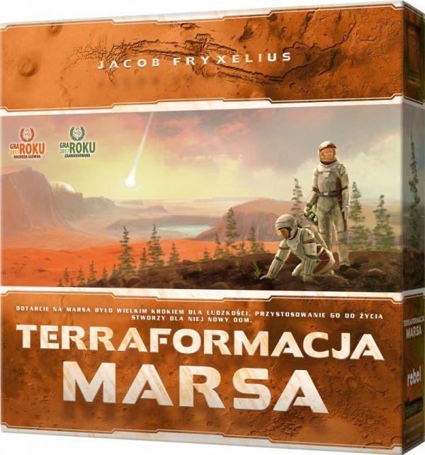 Terraformacja Marsa gra planszowa
