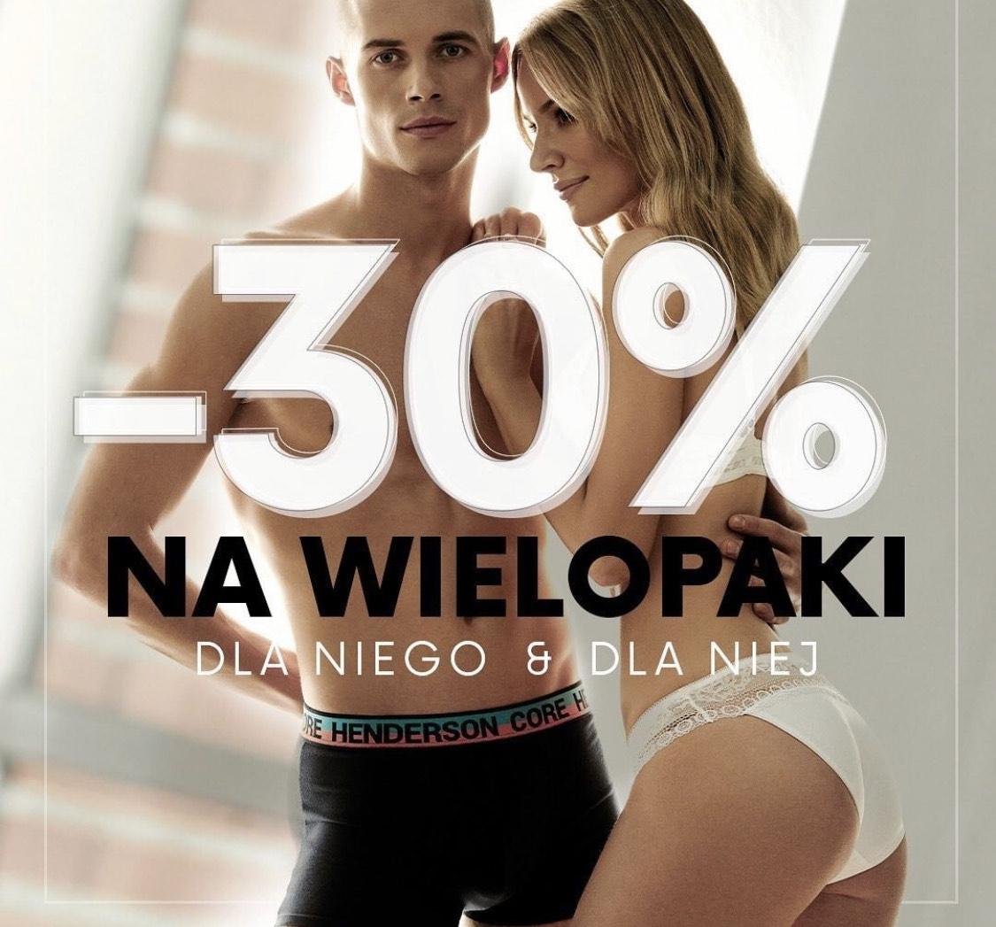 -30% Na Wielopaki sla Niej i dla Niego