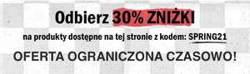 VANS -30% na wybrane artykuły