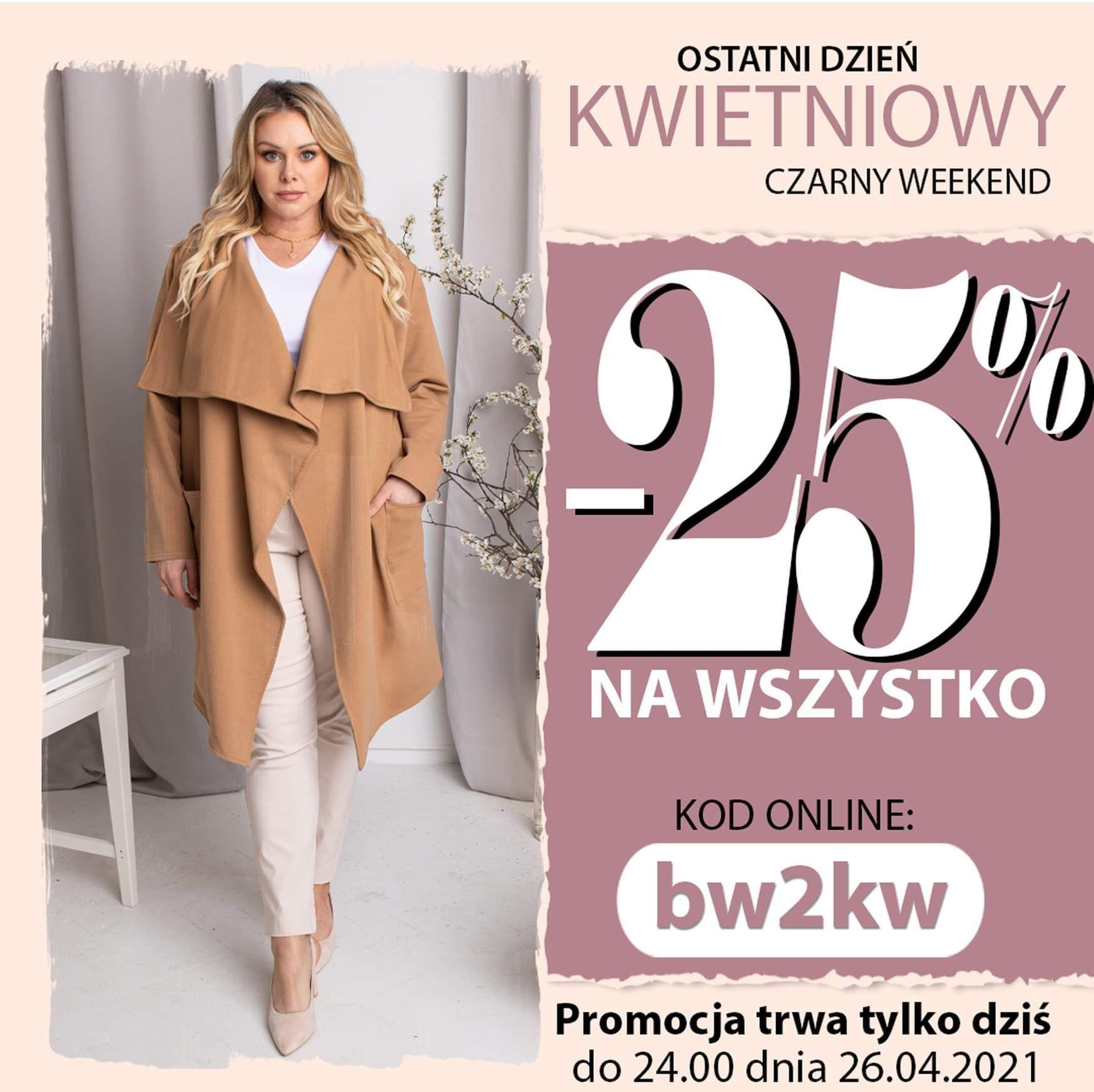 Karko.pl -25% na wszystko tylko dzisiaj do północy