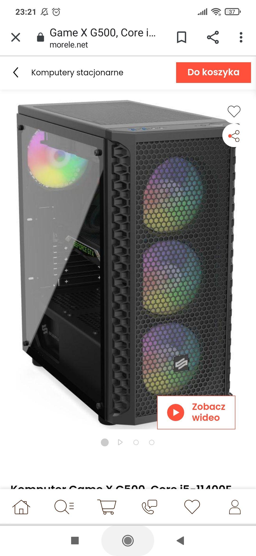 Komputer desktop i5 11gen rtx3060 16gb 1tb 2tb