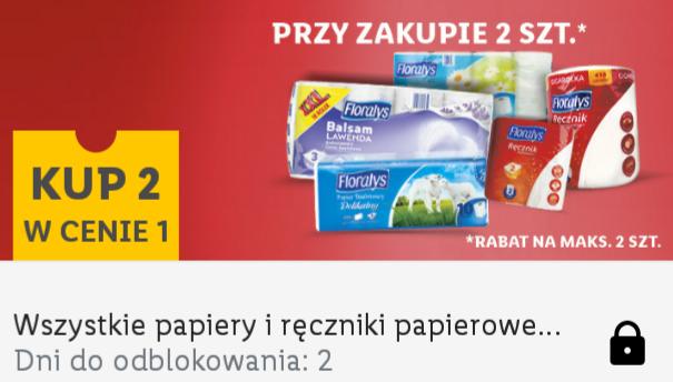 Wszystkie ręczniki i papiery toaletowe 2 W CENIE 1. Lidl