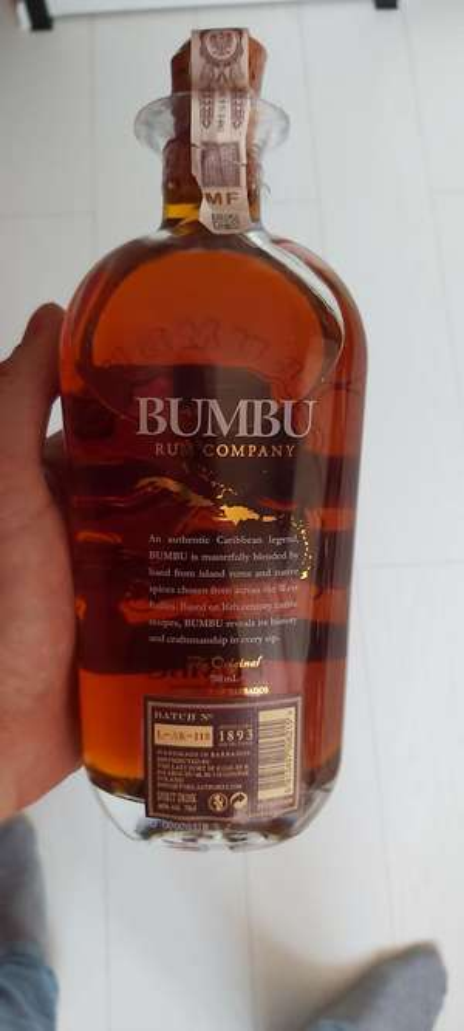 Rum Bumbu The Original 0.7L Barbados Szczyrba Alkohole