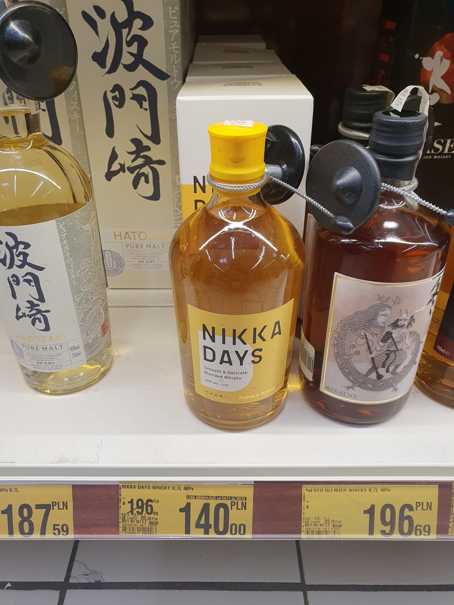 Whisky Nikka Days 0.7 i inne - oferta zbiorcza - Auchan Sosnowiec