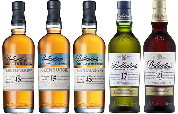 "Degustacja on-line - ""Ballantine's Blends and malts"" - Dom Whisky"