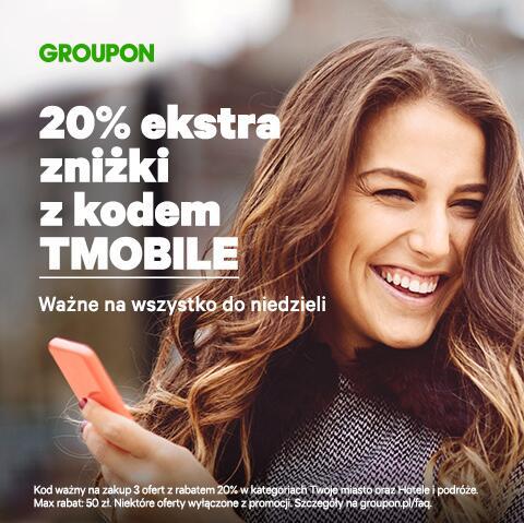 20% z KODEM na Groupon.pl