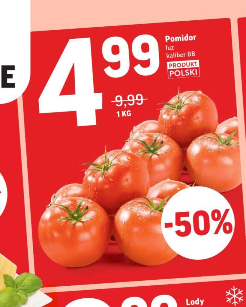 Pomidor luz kaliber BB 1kg /Intermarche/