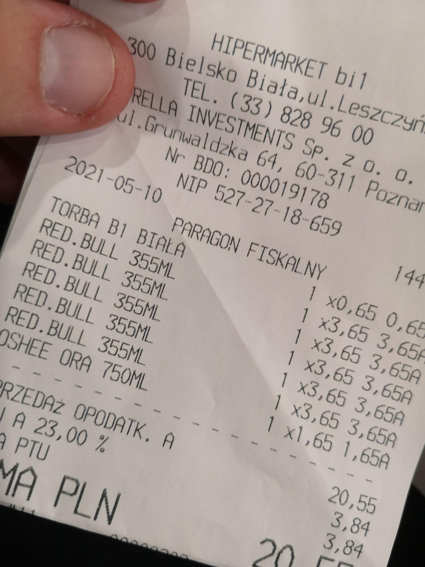 Red Bull 355 ml @ Bi1