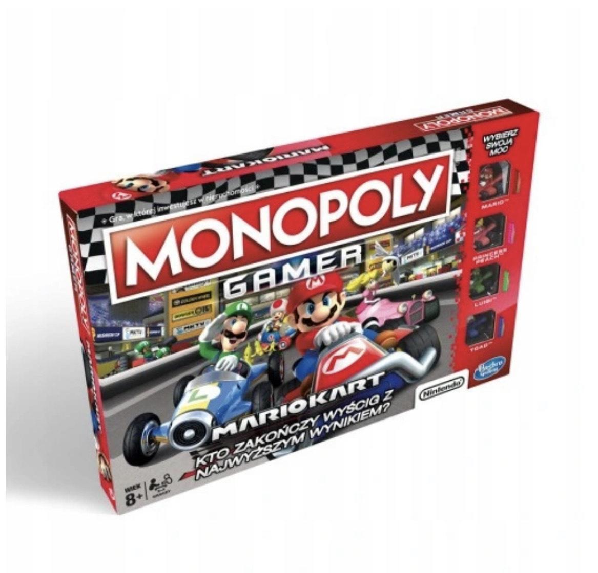 Monopoly Gamer Mario Kart PL