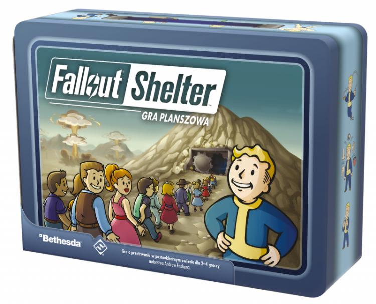 Gra planszowa Fallout Shelter