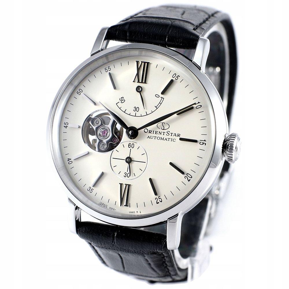 Zegarek męski Orient Star Classic Automatic Open Heart RE-AV0002S00B
