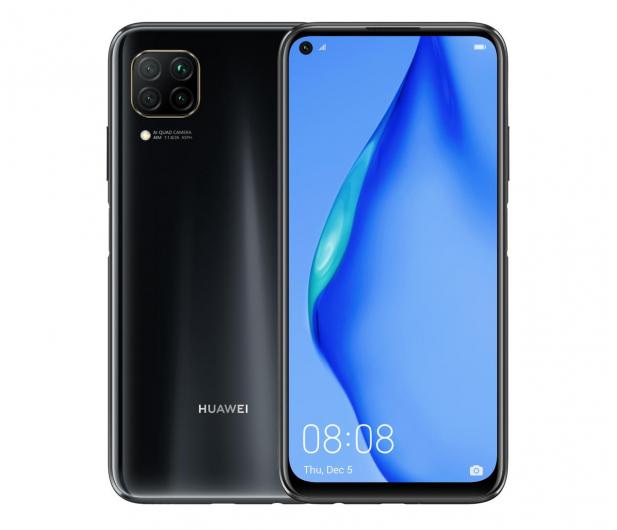 Smartfon Huawei P40 Lite czarny + Huawei Band 6 czarny GRATIS