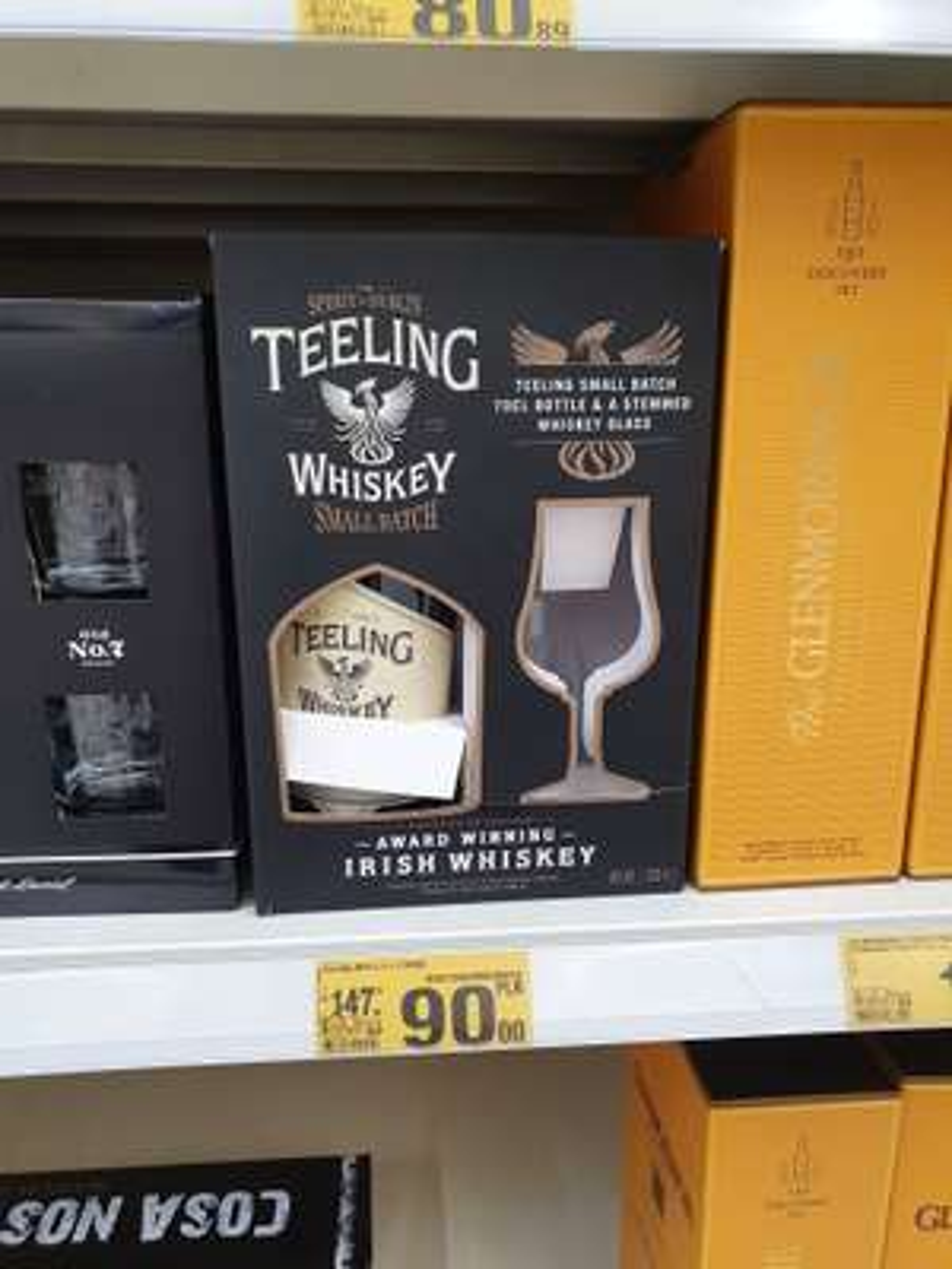 Whiskey Teeling Small Batch 0.7 + kieliszek- Auchan Sosnowiec