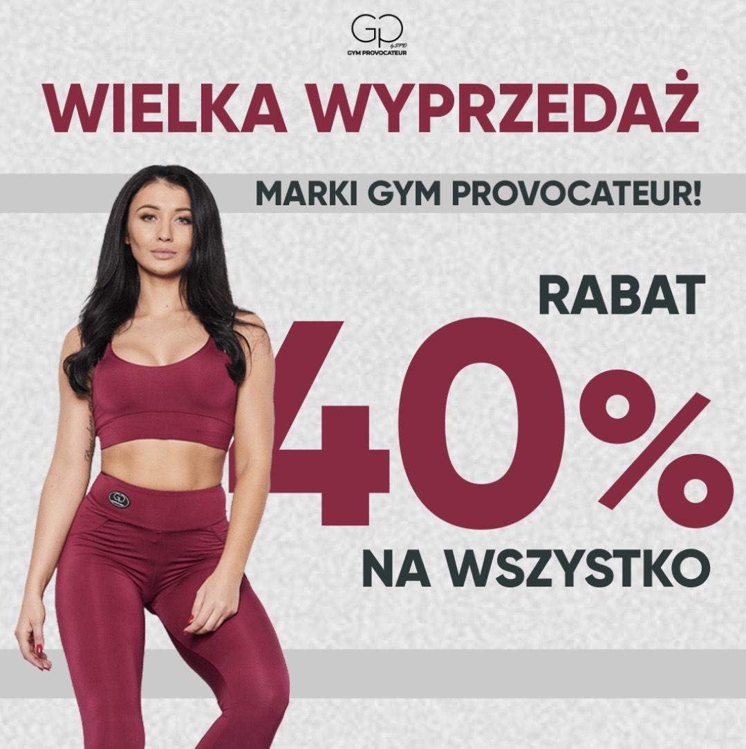 Sklep SFD -40% na damskie ubrania GP dla subskrybentów newslettera