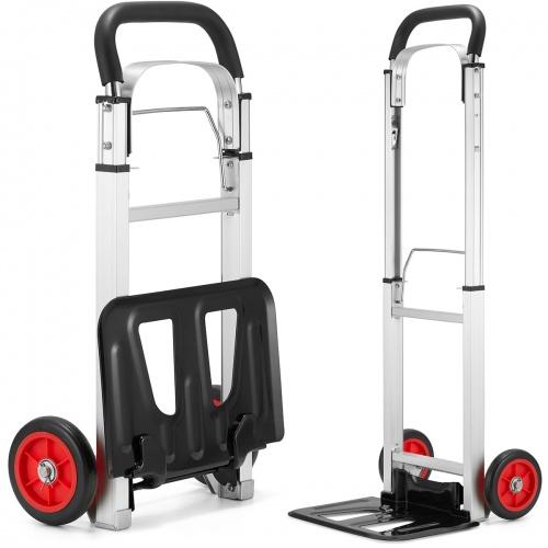 Aluminiowy, składany transportowy wózek magazynowy 90kg @Higher