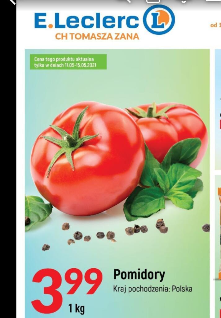 Pomidory krajowe 1 kg /Leclerc/