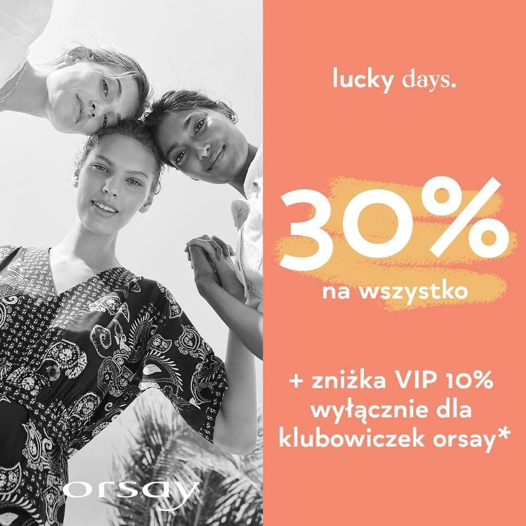 Orsay -30%/ -40% na wszystko, również na art. Przecenione