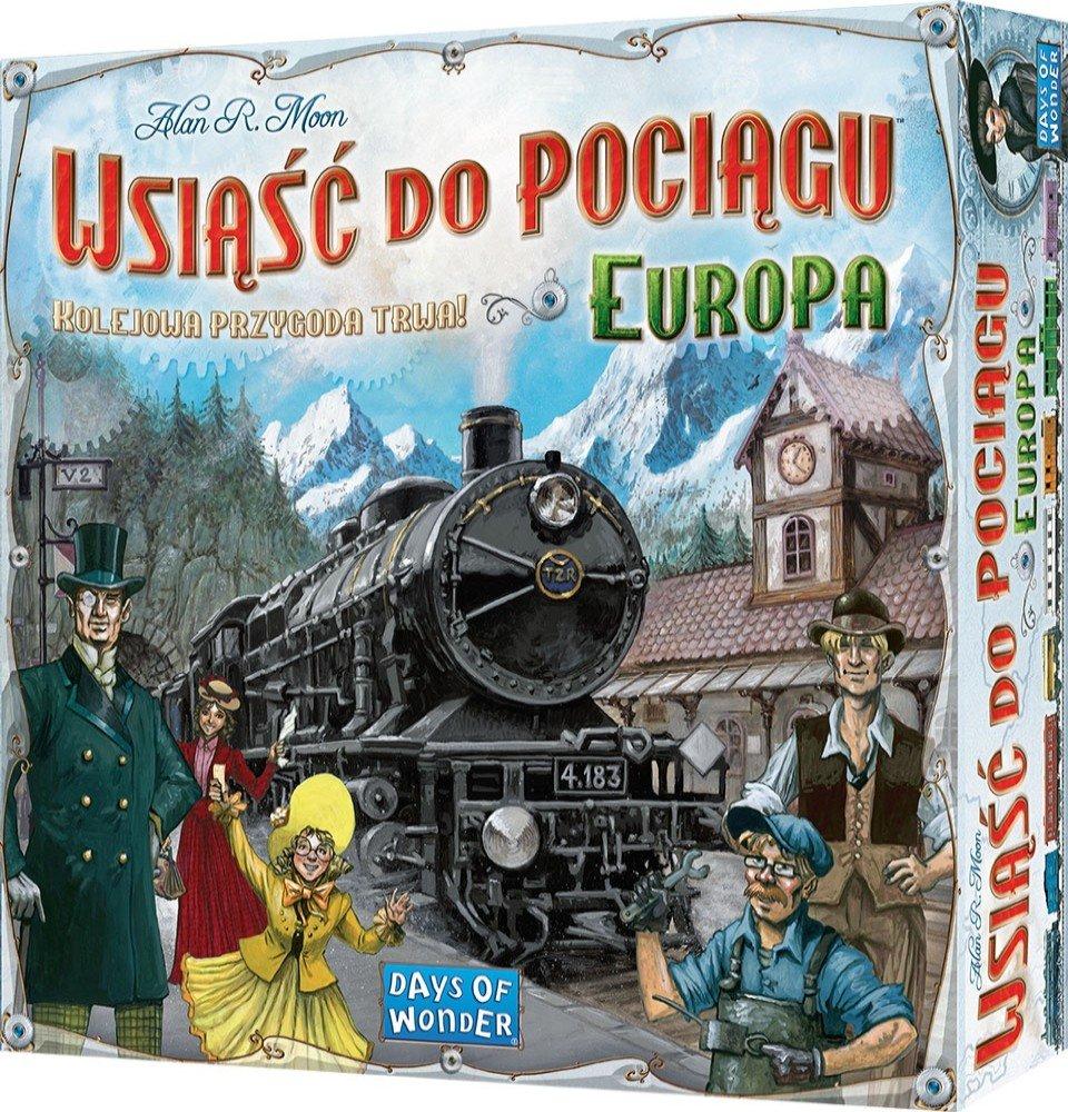 Wsiąść do pociągu: Europa lub USA za 108 / 108,90 w aplikacji – gra planszowa