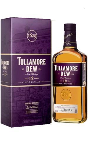 Whisky Tullamore Dew 12YO i inne (14YO, Singleton, Speyburn, Glen Moray) w Alkooutlet