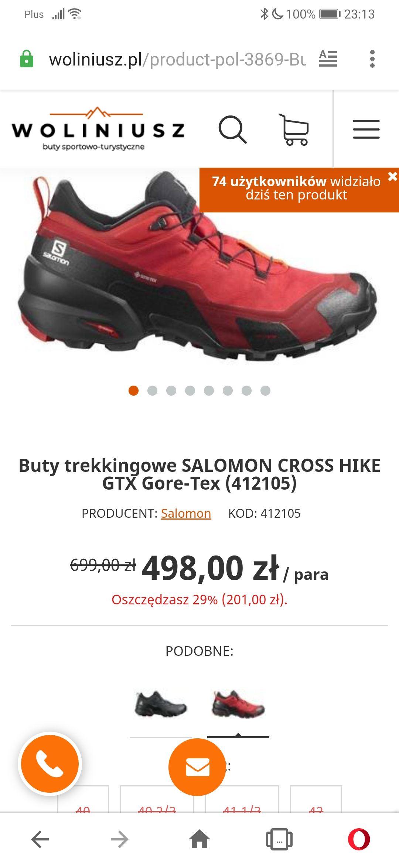 Buty Salomon Cross Hike gtx