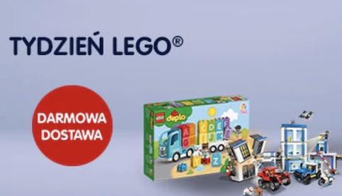 DARMOWA DOSTAWA na wybrane zestawy klocków LEGO