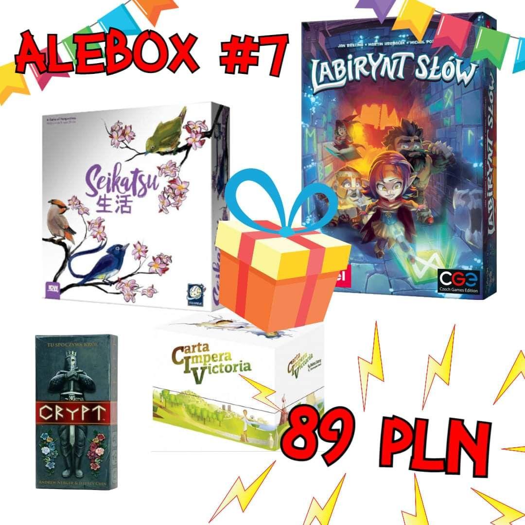 Alebox vol. 7 gra planszowa (gry planszowe)