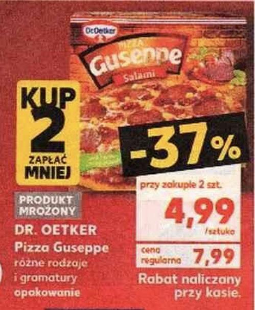 Pizza Guseppe 4,99 zł/szt przy zakupie dwóch sztuk @Kaufland